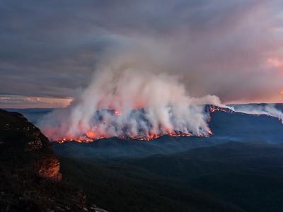 Die Gefahr verheerender Feuer steigt weltweit (© Foto: colourbox)