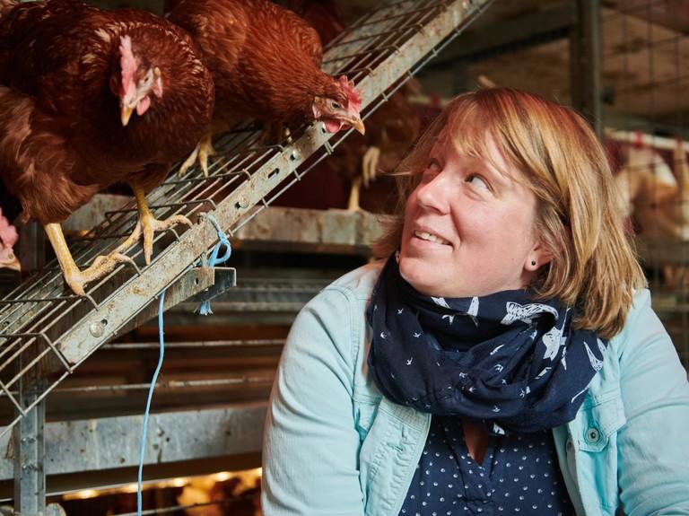 Right click to download: Dr. Inga Tiemann vom Institut für Tierwissenschaften