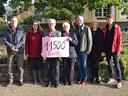 Weihnachtsbaumaktion 2017: 11.500 Euro für soziale Zwecke und den Naturschutz