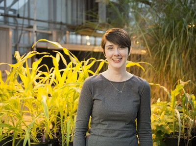 Amy Marshall-Colon will conduct research as a guest professor at the PhenoRob Cluster of Excellence (© Photo: Jordan Goebig / iSEE)